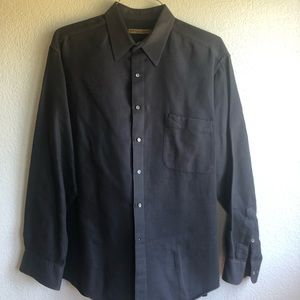 Men's button down collar shirt